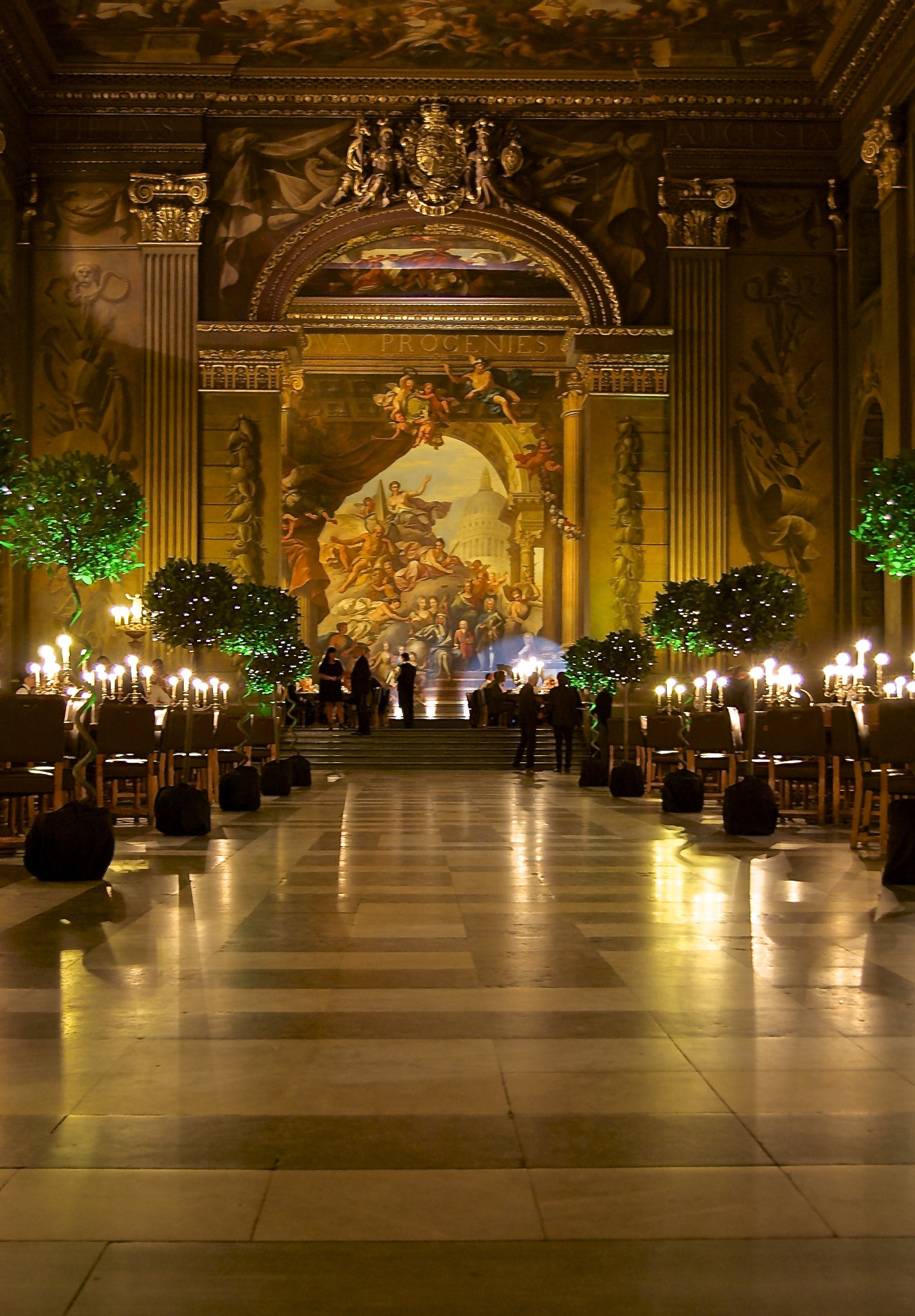 Painted hall 4
